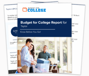Get Your College Budget Report